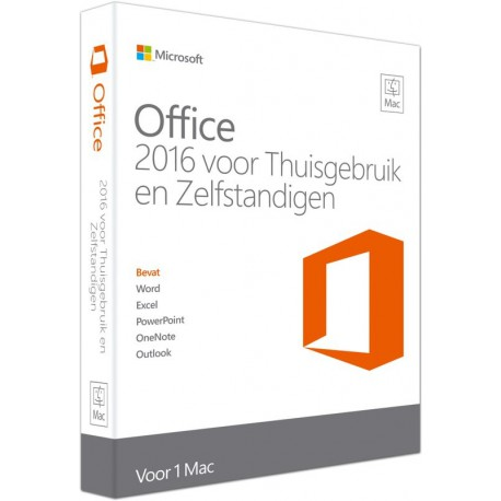 Office 2016 Home and Business voor Mac