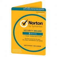 Norton Security Deluxe 3 apparaten 1 jaar