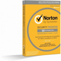 Norton Security Premium + Backup 25GB 10 apparaten 1 jaar