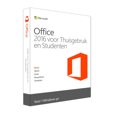 Microsoft Office Home and Student 2016 - PC - Downloaden - All Languages