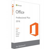 Microsoft Office Professional Plus 2016 - PC - Alle talen