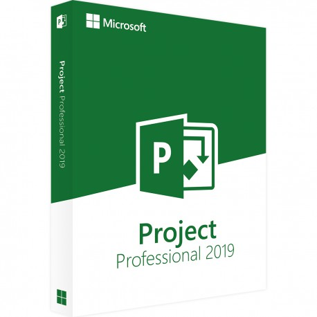 Microsoft Project Professional 2019 voor Windows