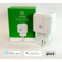 WOOX R5024 SMART PLUG/ SLIMME STEKKER [SCHUKO, 16A, TUYA/ AMAZON ALEXA/GOOGLE ASSIST/IFTTT, WHITE]