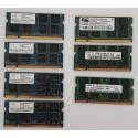 1GB DDR2 SO-DIMM PC2-4200 Mixed
